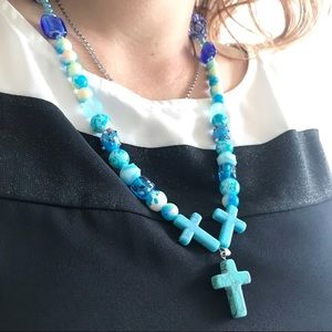 Hand made Cross Necklace ✝️
